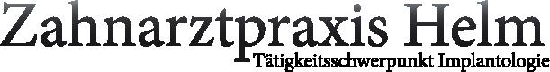 Zahnarzt Dresden Cotta Praxis Helm Logo
